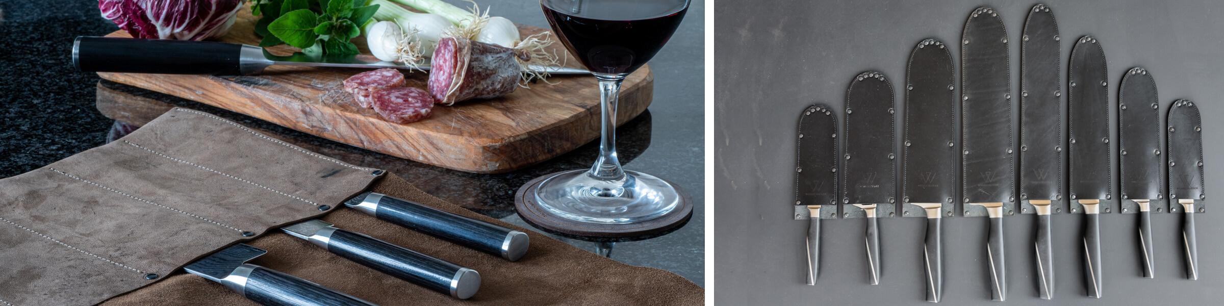 Küchen- & Wohnaccessoires aus Leder | w-werk. GmbH